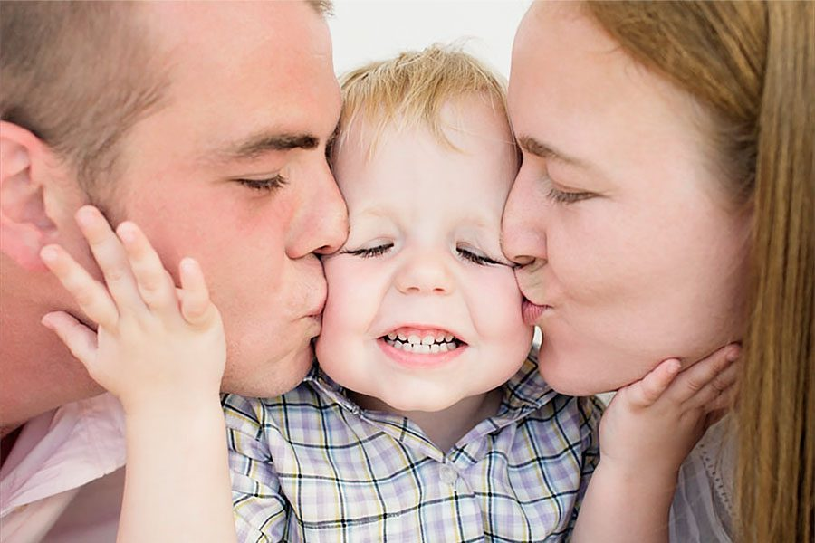 Любовь между родителями и детьми