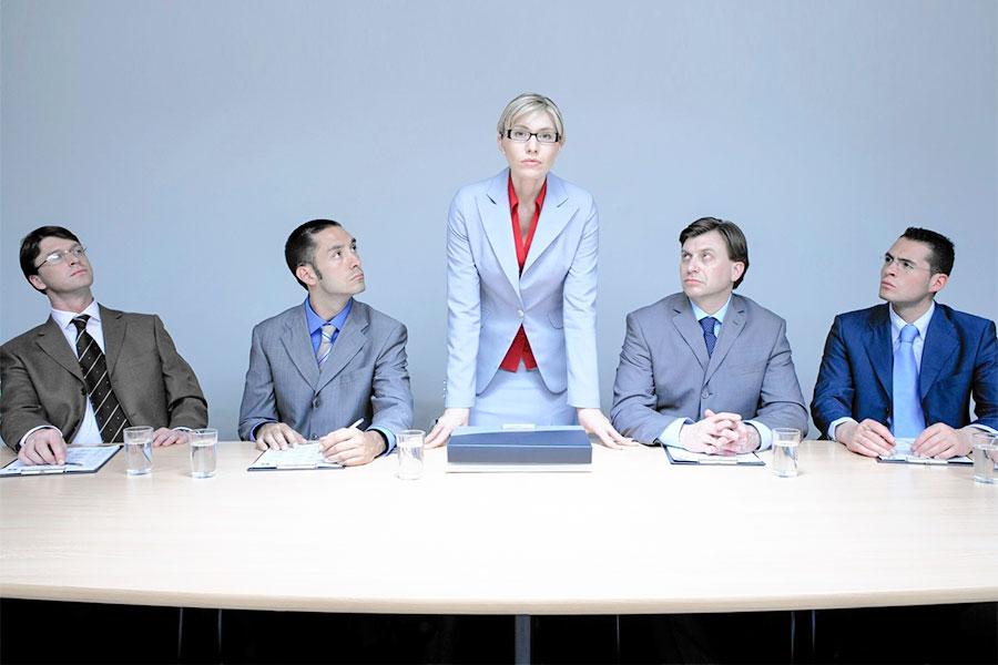 Каких женщин ценят в мужском коллективе