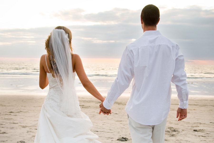 Они поженились